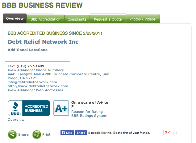 Debt-Relief-Network-BBB-Screen-Shot