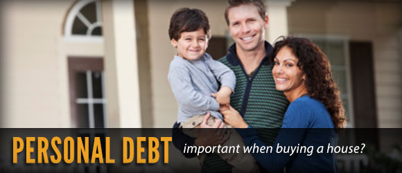 personal debt and buying a home