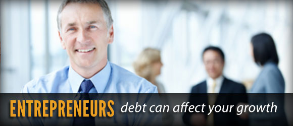 entrepreneurs and personal debt