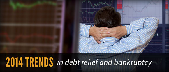2014 bankruptcy and debt trends