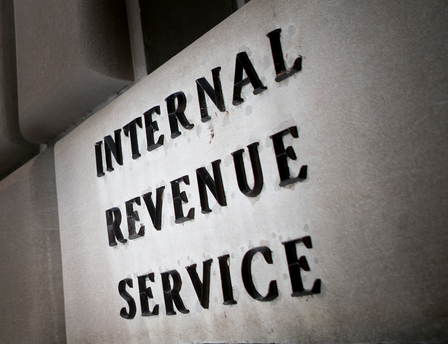 IRS screen shot